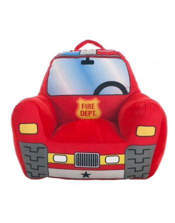 SILLON FIRE RED 52X48X51CM