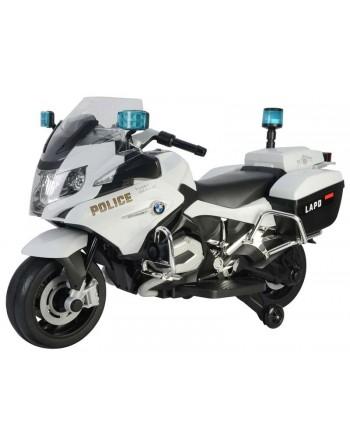 MOTO POLICIA BMW 12V BLANCA